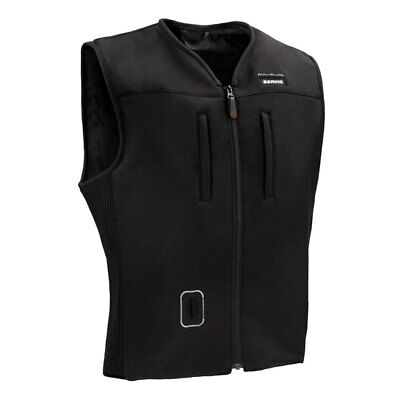 Bering C Protect Airbag Black Moto Motorcycle Motorbike Textile Vest | All Sizes