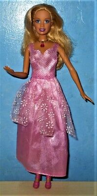 Rosella The Island Princess Barbie Singing 2008 Doll Knees Arm Bends REDUCED