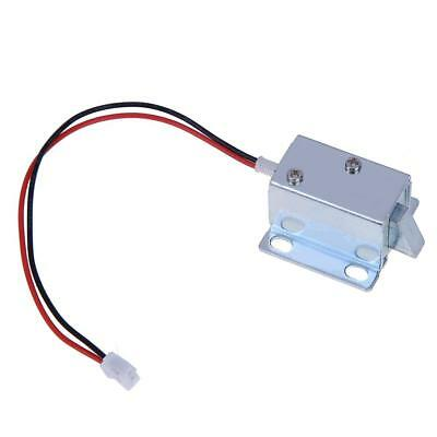 DC 6V/12V Electric Solenoid Lock Tongue Upward Assembly for Door Cabinet Drawer
