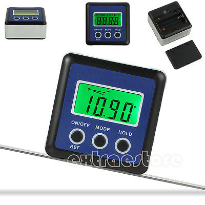 0~360° Digital Angle Gauge Inclinometer Gauge Accurate Measuring LCD Protractor