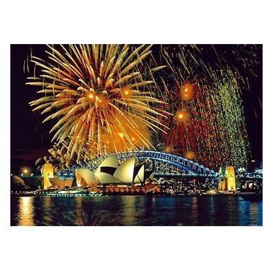 AU 5D Diamond Painting Sydney Fireworks Embroidery Cross Stitch Home Wall Decor