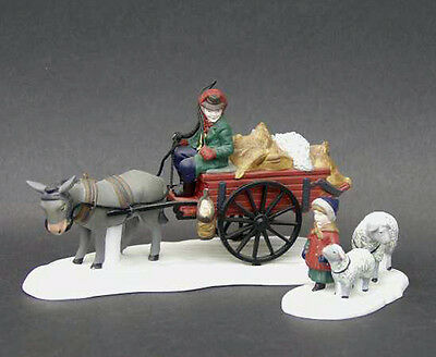 NIB - Bringing Fleeces to the Mill, Dept 56 - Dickens Village, 58190, Retired