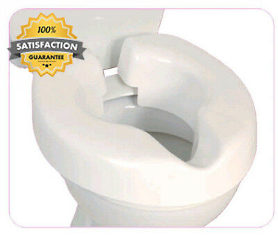 NRS Healthcare F25145 Novelle Portable Clip-On Raised Toilet Seat (Eligible...