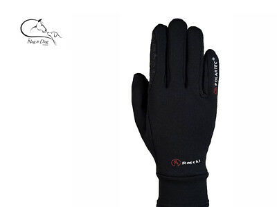 Roeckl Gloves Roeck-Grip Warwick Polartec Riding Gloves FREE DELIVERY