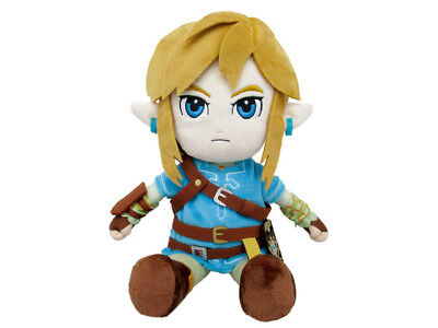 "Sanei The Legend of Zelda Breath of the Wild BotW Link 12"" Plush USA Authentic"