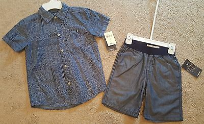 Boys LUCKY BRAND outfit size 6. NwT!