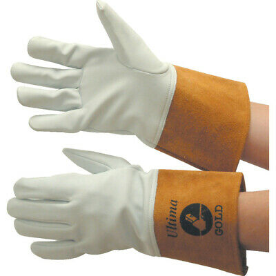 Jayco Ultima Gold Tig White/Yellow Welding Gloves - Size 10
