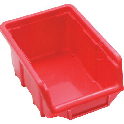 Senator Sen1 Plastic Storage Bin Red - Pack Of 10