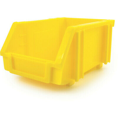 Matlock Mtl1 Plastic Storage Bin Yellow - Pack Of 5