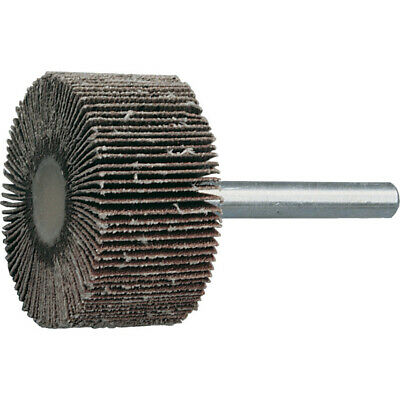York 30x15mm Al/ox Flap Wheel P180-3mm Shank