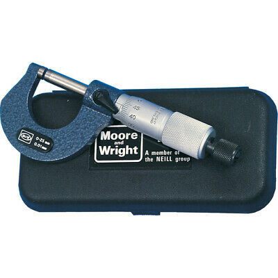 Moore & Wright 1965M 0-25Mm Outside Micrometer
