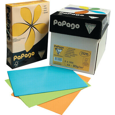 Papago A4 Copier Paper Intense Lilac 80gsm 500 Sheets