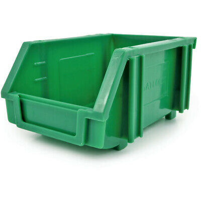 Matlock Mtl1 Plastic Storage Bin Green - Pack Of 5