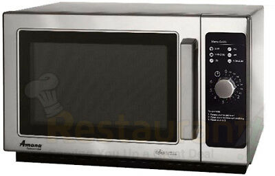 Amana Rcs10Dse Commercial Microwave Dial Timer Stainless Steel 1000W