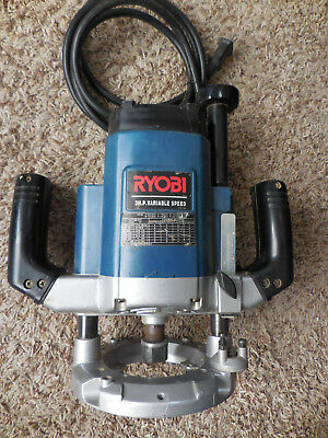 Ryobi 3 Hp Router Model Re600 Variable Speed Heavy Duty Wood Working