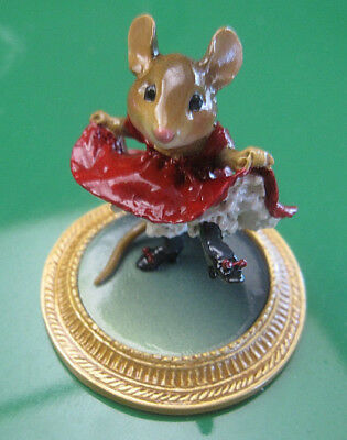 Wee Forest Folk Can-Can Mouse A La Toulouse Lautrec - 2003 Retired - No Box