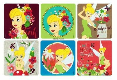 12 Disney Fairy Tinkerbell Stickers Kid Party Goody Loot Bag Filler Favor Supply