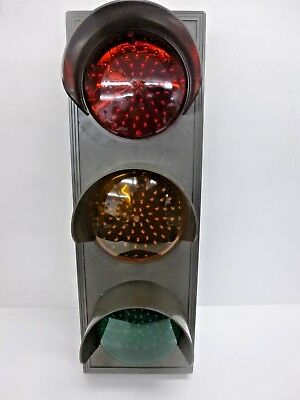 New!! Tapco Led Traffic Signal Light, Red/ylw/green, 116880