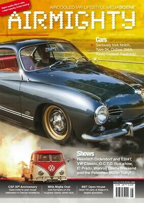 Airmighty Megascene Air Cooled Vw Lifestyle Magazine Issue # 28