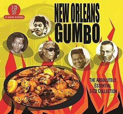 New Orleans Gumbo: A - New Orleans Gumbo: Absolutely Essential 3CD Collection [N