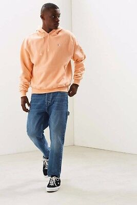 Champion x Urban Outfitters UO Reverse Weave Peach Hoodie Pullover Men's Medium