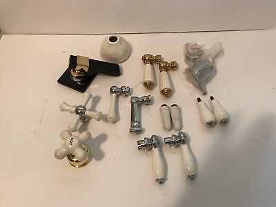 Faucet handles - miscellaneous - Lot of 14