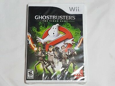 NEW (w/ wear) Ghostbusters The Video Game Nintendo Wii Game SEALED (loose disc)