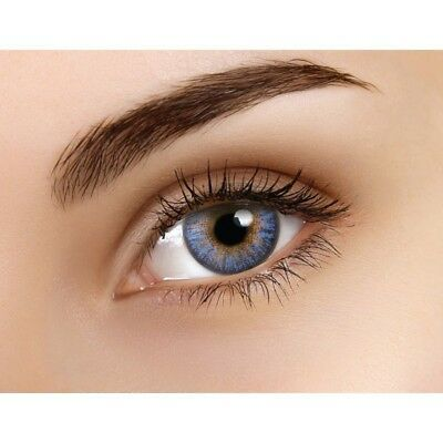 Lentille couleur bleu Alice - blue color contact lenses - BG487