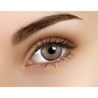 Lentille couleur elves gris - grey color contact lenses QXD475