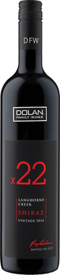 Dolan Family Wines X22 Langhorne Creek Shiraz 2014