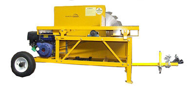 """BENCH SAW WOOD CUTTING 36"""" Blade ELECTRIC START Portable/Towable"""