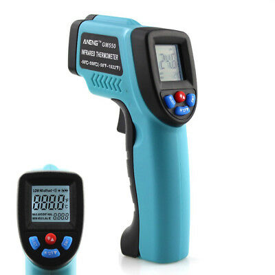 GM550 Digital Infrared Thermometer Pyrometer Aquarium Laser Thermometer