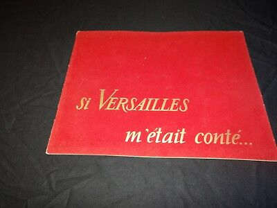 SI VERSAILLES M' ETAIT CONTE Sacha Guitry  edith piaf scenario cinema 1953
