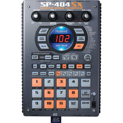 Roland SP-404 SX - Performance Sampler SP404 SX