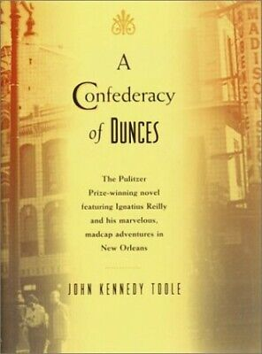 A Confederacy of Dunces by Toole, John Kennedy Book The Cheap Fast Free Post