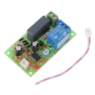 AC 220V Trigger Delay Switch Turn On Off Board Timer Relay PLC Module Adjustable