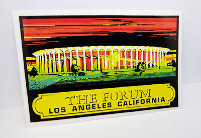 THE FORUM Los Angeles California Vintage Style Travel DECAL / Vinyl STICKER