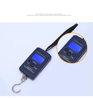 Mini 40kg/10g Digital Hook Scale Accurate Hand Carry Electronic Scale Portable k