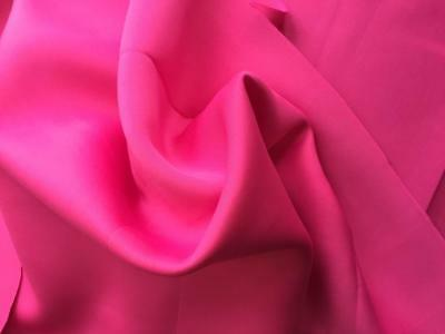 Luxury Neoprene Scuba Wetsuit Fabric Material - HOT PINK