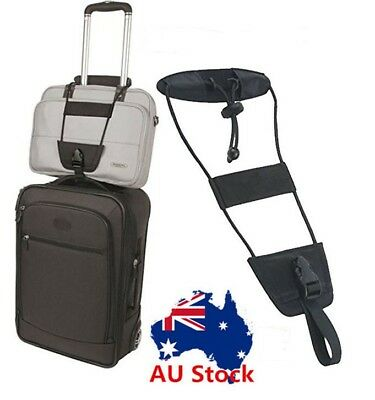 1PC Add A Bag Strap Travel Luggage Suitcase Adjustable Tape Belt Carry On Bungee