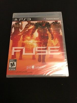 Fuse (Sony PlayStation 3, 2013) Brand New See Description