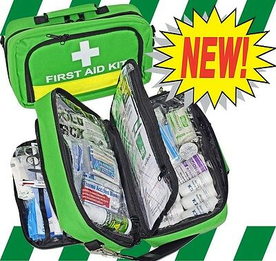 First Aid Kit - National Safe Work Australia Essential Workplace Kit -Free Items