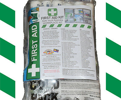 First Aid Kit - National Safework Australia Comprehensive Work Place Kit -Refill