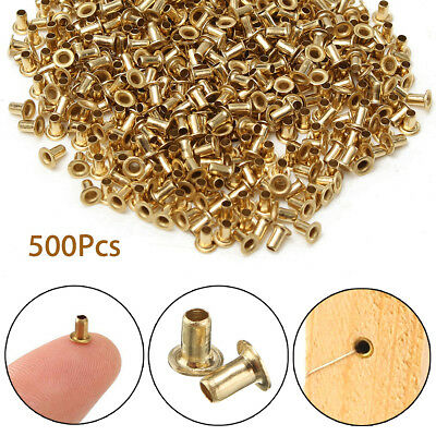 500Pcs Gold Beekeeping Brass Eyelets Set Copper Cap For Bee Brood Box Frame Tool