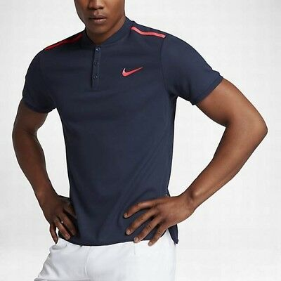 Nike Court Advantage Men's Tennis Polo. Large. Midnight Navy. 830839