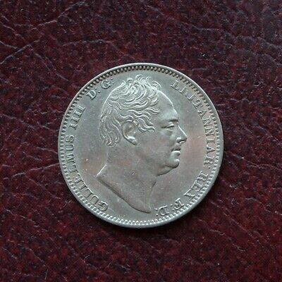 William IV 1831 silver maundy fourpence