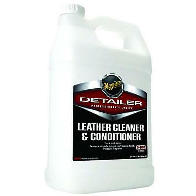 Meguiars Leather Cleaner & Conditioner 3.8L D18001 Free Shipping!