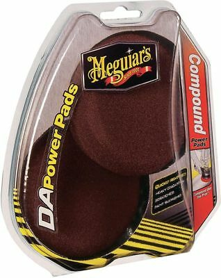 Meguiars Dual Action Compound Power Pads Twin Pack G3507INT Free Shipping!