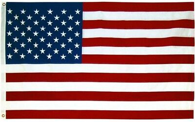 3 x 5 ft. US Flag USA American United States Heavy Duty Outdoor Nylon Banner New