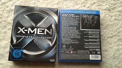 X-Men Complete Collection Blu Ray Box